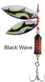 BLACK CAT Rotačka Hitman Twin Spinner veľ. 1/0
