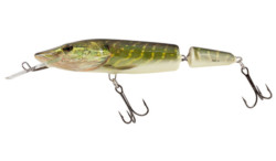 SALMO Vobler PIKE JOINTED DEEP RUNNER 13cm/24g Floating