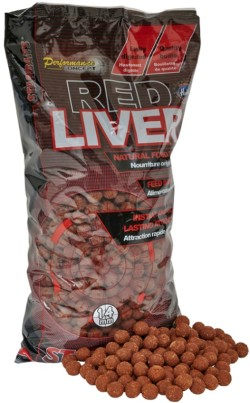 STARBAITS Boilies Concept Red Liver 2,5kg
