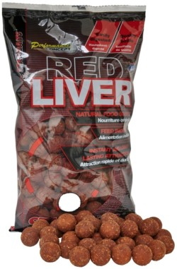 STARBAITS Boilies Concept Red Liver 1kg